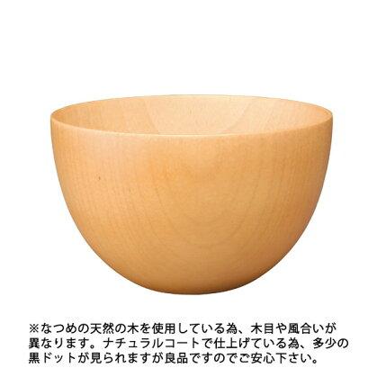 KOZ椀ナチュラルボウル中/お椀/木の器/木製ボウル