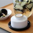 WITH WECK (ウィズウェック)Tsukemono Stoneホワイト ww-019wh 漬物石 つけもの石 常滑焼 浅漬け【フタのサイズL対応】
