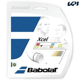 【店内最大2000円引クーポン】「■5張セット」BabolaT(バボラ)「Xcel(lエクセル)125/130/135 BA241110」硬式テニスストリング(ガット)