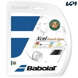 【店内最大2000円引クーポン】「■5張セット」BabolaT(バボラ)「Xcel French Open(エクセル フレンチオープン)125/130/135 BA241111」硬式テニスストリング(ガット)