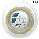 『即日出荷』BabolaT(バボラ)「Addiction(アディクション)125/130/135 200mロール BA243115」硬式テニスストリング(ガット...