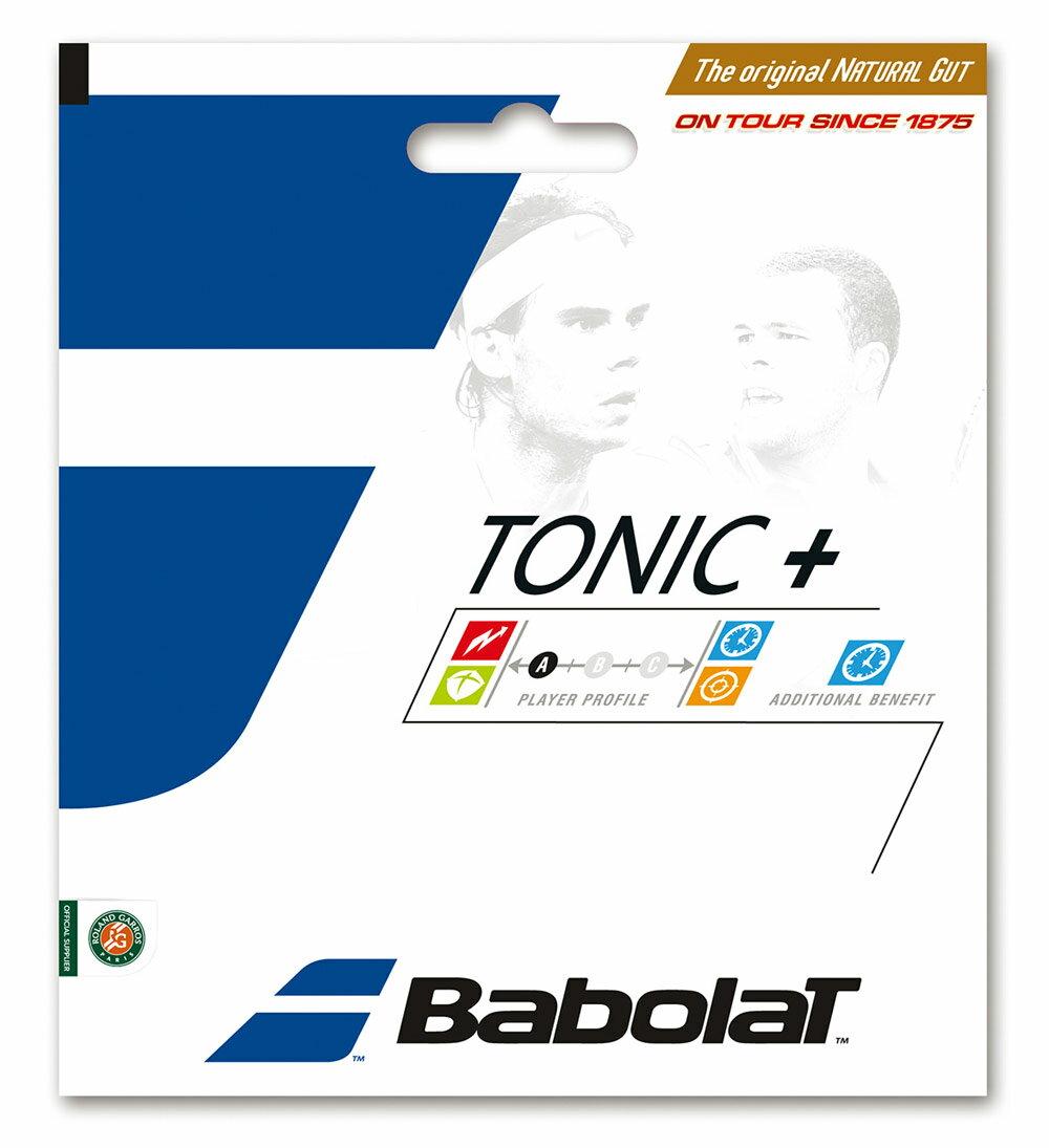 【全品10%OFFクーポン対象】『即日出荷』BabolaT(バボラ)「トニックプラス ボールフィール BA201026」硬式テニスストリング(ガット)[ネコポス可]「あす楽対応」