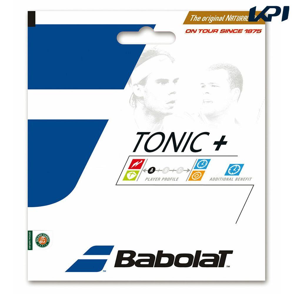 『即日出荷』BabolaT(バボラ)「トニックプラス ロンジビティ BA201027」硬式テニスストリング(ガット)[ネコポス可]「あす楽対応」【kpi_d】