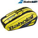 【全品10%OFFクーポン対象】バボラ Babolat テニスバッグ・ケース PURE AERO RACKET HOLDER X9 ラケットホルダー 9本…