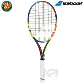 【全品10%OFFクーポン】Babolat(バボラ)「PURE AERO FRENCH OPEN(ピュア アエロ フレンチオープン)限定全仏オープンモデル BF101291」硬式テニスラケット