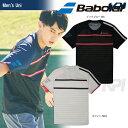 「あす楽対応」「2017新製品」Babolat(バボラ)「Unisex ショートスリーブシャツ BAB-1712」テニスウェア「2017SS」『…
