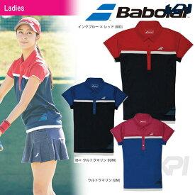 【全品10%OFFクーポン対象】【均一セール】『即日出荷』Babolat(バボラ)「Women's レディース ショートスリーブシャツ BAB-1741W」テニスウェア「FW」 「あす楽対応」[ポスト投函便対応]