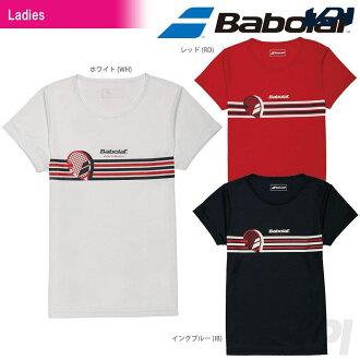「2017 신제품」Babolat(바보라) 「Women's레이디스 쇼트 슬리브 셔츠 BAB-8734 W」테니스 웨어 「2017 SS」 「대응」