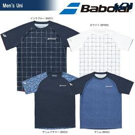 「あす楽対応」バボラ Babolat テニスウェア ユニセックス SHORT SLEEVE SHIRT ショートスリーブシャツ BTULJA07 「SS」[ポスト投函便対応] 『即日出荷』