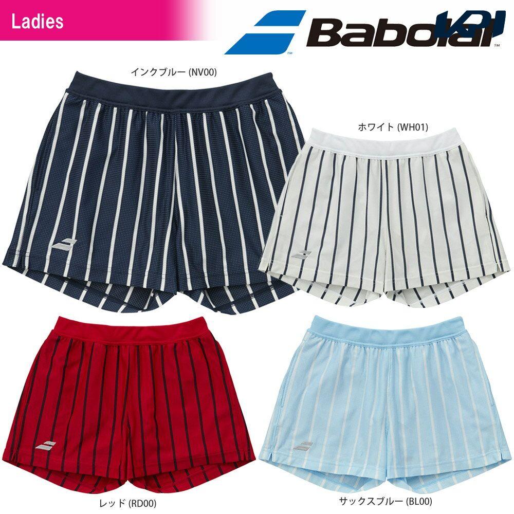 【1万円以上で1000円引クーポン】【均一セール】バボラ Babolat テニスウェア レディース SHORT PANTS ショートパンツ BTWLJD00 2018SS