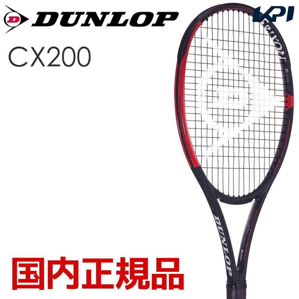 【1万円以上で1000円引クーポン】ダンロップ DUNLOP 硬式テニスラケット CX 200 DS21902【2019春ダンロップ・スリクソンフェスタ】