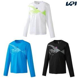 【全品10%OFFクーポン】ダンロップ DUNLOP テニスウェア ユニセックス ロングスリーブTシャツ DAL-8004 2020SS [ポスト投函便対応]
