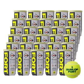 【全品10%OFFクーポン〜9/26】【365日出荷】「あす楽対応」DUNLOP(ダンロップ)「FORT(フォート)[2個入]1箱(30缶/60球)」テニスボール 「フォート60周年キャンペーン対象」 『即日出荷』