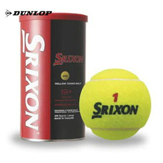 SRIXONTENNIS BALL (スリクソンテニスボール) one can = two pitches