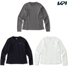エレッセ Ellesse テニスウェア レディース Heat Knit Crew ヒートニットクルーシャツ EW00311 2020FW