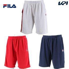 【全品10%OFFクーポン】フィラ FILA テニスウェア メンズ メンズ ハーフパンツ VM7003 2020SS