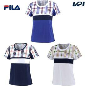 フィラ FILA テニスウェア レディース ウィメンズ ゲームシャツ VL2153 2020SS [ポスト投函便対応]
