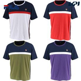 【全品10%OFFクーポン対象】フィラ FILA テニスウェア メンズ ゲームシャツ VM5433 2019FW [ポスト投函便対応]