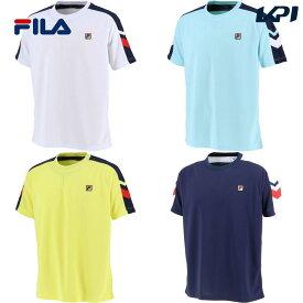 【全品10%OFFクーポン】フィラ FILA テニスウェア メンズ ゲームシャツ VM5474 2020SS [ポスト投函便対応]