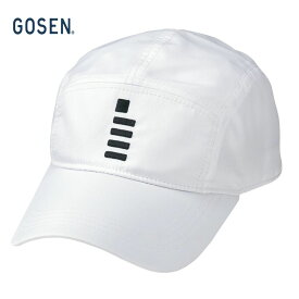 【全品10%OFFクーポン】ゴーセン GOSEN テニスキャップ・バイザー ユニセックス テニスキャップ C1801