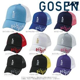 「あす楽対応」ゴーセン GOSEN テニスキャップ・バイザー ALL JAPAN オールジャパンキャップ レギュラー C18A01 『即日出荷』