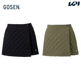 ゴーセン GOSEN テニスウェア レディース レディースラップスカート S2061 2020FW [ポスト投函便対応]