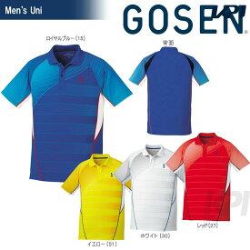 【全品10%OFFクーポン対象】GOSEN(ゴーセン)「UNI ゲームシャツ T1700」テニスウェア「2017SS」【KPI】[ポスト投函便対応]
