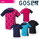 『即日出荷』「2017新製品」GOSEN(ゴーセン)「レディース 星柄ゲームシャツ T1711」テニスウェア「2017SS」「あす楽対応」【kpi_d】