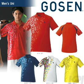 GOSEN(ゴーセン)「UNI ゲームシャツ T1718」テニスウェア「2017FW」[ポスト投函便対応]