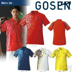 GOSEN(ゴーセン)「UNI ゲームシャツ T1718」テニスウェア「2017FW」