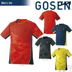 【全品10%OFFクーポン】GOSEN(ゴーセン)「UNI ゲームシャツ T1724」テニスウェア「2017FW」[ポスト投函便対応]