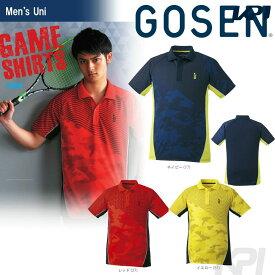 GOSEN(ゴーセン)「UNI ゲームシャツ T1728」テニスウェア「2017FW」