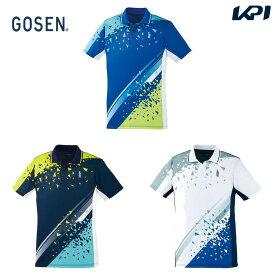 【全品10%OFFクーポン】ゴーセン GOSEN テニスウェア ユニセックス ゲームシャツ T2000 2020SS [ポスト投函便対応]