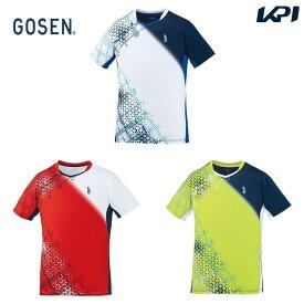 ゴーセン GOSEN テニスウェア ユニセックス ゲームシャツ T2002 2020SS [ポスト投函便対応]