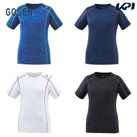 【全品10%OFFクーポン】ゴーセン GOSEN テニスウェア レディース ゲームシャツ T2007 2020SS [ポスト投函便対応]