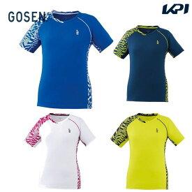 ゴーセン GOSEN テニスウェア レディース ゲームシャツ T2009 2020SS [ポスト投函便対応]
