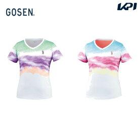 ゴーセン GOSEN テニスウェア レディース ゲームシャツ T2021 2020SS [ポスト投函便対応]