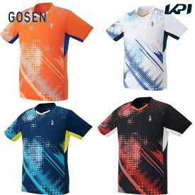 【全品10%OFFクーポン〜8/1】ゴーセン GOSEN テニスウェア ユニセックス ゲームシャツ T2144 2021FW