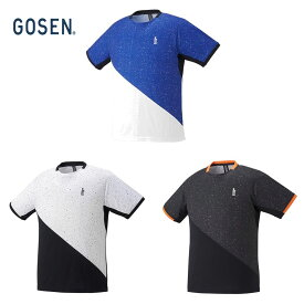 【全品10%OFFクーポン〜8/1】ゴーセン GOSEN テニスウェア ユニセックス ゲームシャツ T2150 2021FW