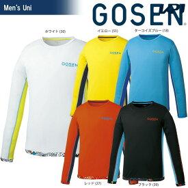 【全品10%OFFクーポン】ゴーセン GOSEN テニスウェア ユニセックス ファンプラロンT UT1802 2018SS