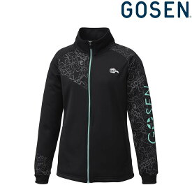 【全品10%OFFクーポン】ゴーセン GOSEN テニスウェア レディース 裏起毛ストレッチジャケット UW1801 2018FW