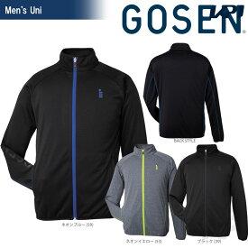 【全品10%OFFクーポン対象】GOSEN(ゴーセン)「UNI ユニ ニットジャケット W1500」テニスウェア「FW」