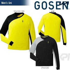 【全品10%OFFクーポン】GOSEN(ゴーセン)「UNI ライトトレーナー W1710」テニスウェア「2017SS」