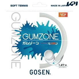 【全品10%OFFクーポン】ゴーセン GOSEN ソフトテニスガット・ストリング GUMZONE ガムゾーン SSGZ11 単張 [ポスト投函便対応]