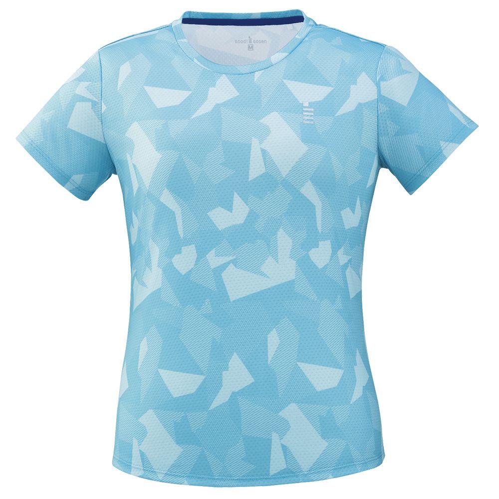 『10%OFFクーポン対象』ゴーセン GOSEN テニスウェア レディース ゲームシャツ T1923 2019SS 2019年2月上旬発売予定※予約