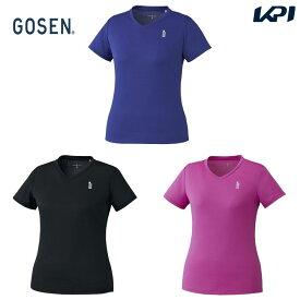 ゴーセン GOSEN テニスウェア レディース ゲームシャツ T1965 2019FW[ポスト投函便対応]