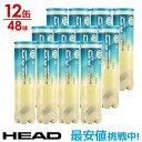 HEAD(ヘッド)「HEAD PRO(ヘッドプロ)4球入り1箱(12缶/48球) 571714」テニスボール