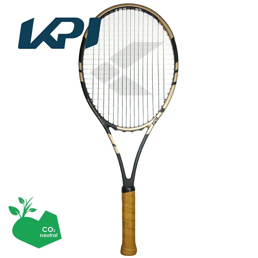 【スポーツタオルプレゼント】KPI(ケイピーアイ)「K classic-Black / Gold 」硬式テニスラケット【KPI】
