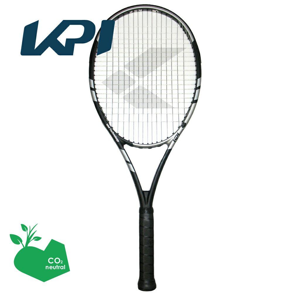 【スポーツタオルプレゼント】KPI(ケイピーアイ)「K pro 295-Black /silver」硬式テニスラケット【KPI】