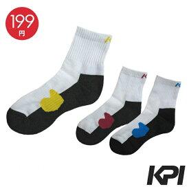 「あす楽対応」KPI(ケイピーアイ)「Ladies' レディースショートソックス F13P11」テニスウェア KPIオリジナル商品『即日出荷』